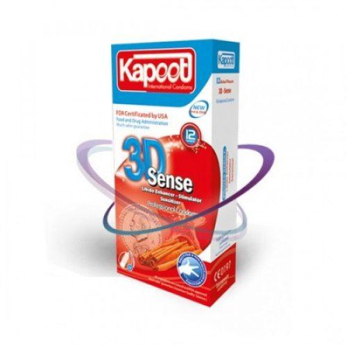 کاندوم کاپوت احساس سه بعدی KAPOOT 3D SENSE
