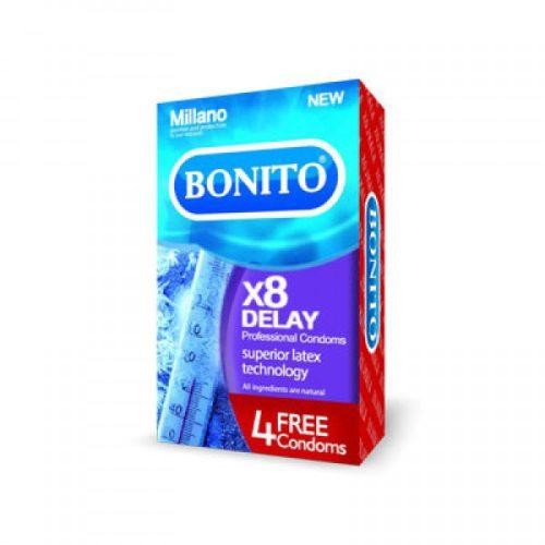 کاندوم تاخیری بونیتو Bonito X8 Delay Condom