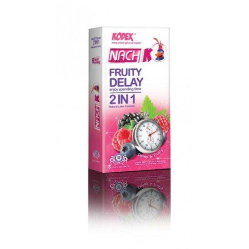 کاندوم کدکس تاخیری میوه ای Nach Kodex Fruity Delay