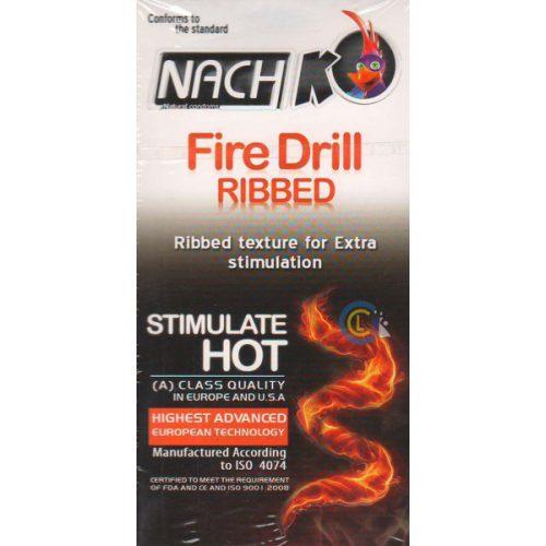 کاندوم ناچ کدکس شیاردار Nach Kodex Fire Drill