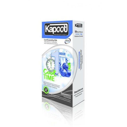 کاندوم کاپوت کول تایم تاخیری سرد یک ساعته KAPOOT COOL TIME 1Hour
