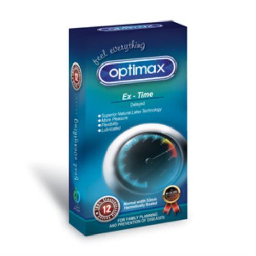 کاندوم تاخیری ساده اپتیمکس OPTIMAX EX-TIME