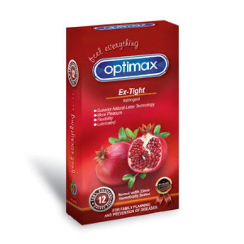 کاندوم تنگ کننده انار اپتیمکس OPTIMAX EX-TIGH
