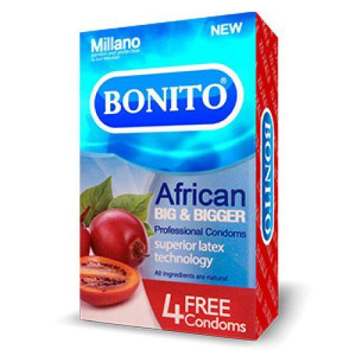 کاندوم بزرگ کننده بونیتو Bonito African Big & Bigger