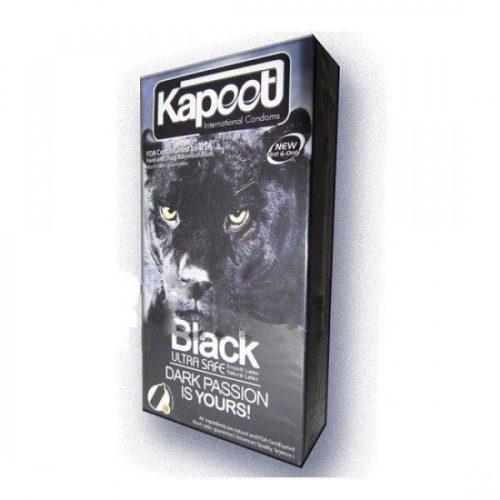 کاندوم کاپوت مشکی بسیار ایمن KAPOOT-BLACK ULTRA SAFE