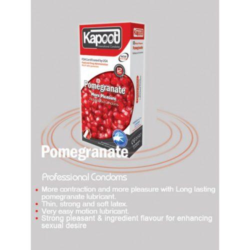 کاندوم کاپوت منقبض کننده KAPOOT POMEGRANATE