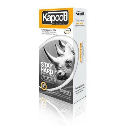 کاندوم کاپوت سفت کننده عمودی KAPOOT-STAY HARD-BEING VERTICAL