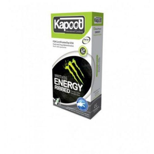 کاندوم انرژی زا کاپوت Kapoot Irritless energy ribbed