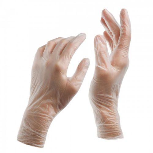 دستکش ونیل ۱۰۰ عددی
