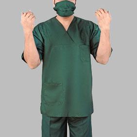 نتیجه تصویری برای لباس اتاق عمل پزشک