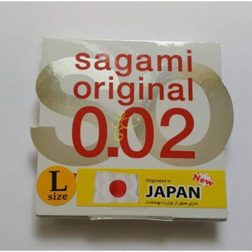 ساگامی ژاپن کاندومی به نازکی پر 2 عددی