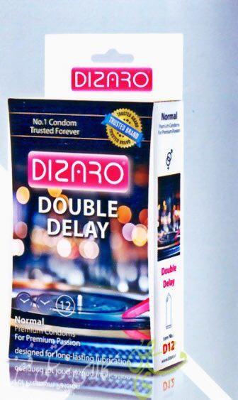 دیزارو کاندوم صاف 2 برابر تاخیری