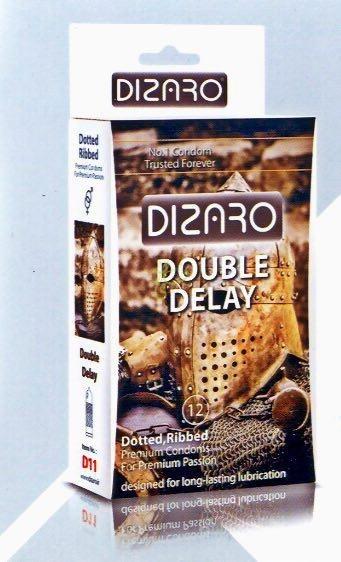 دیزارو کاندوم خاردار شیاردار 2 برابر تاخیری