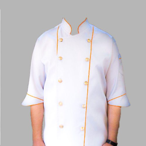 لباس آشپزي مدل شایان سفید