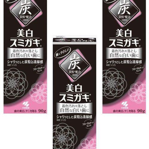 خمیردندان زغالی ژاپن کوبایاشی مشکی سفیدکننده KOBAYASHI