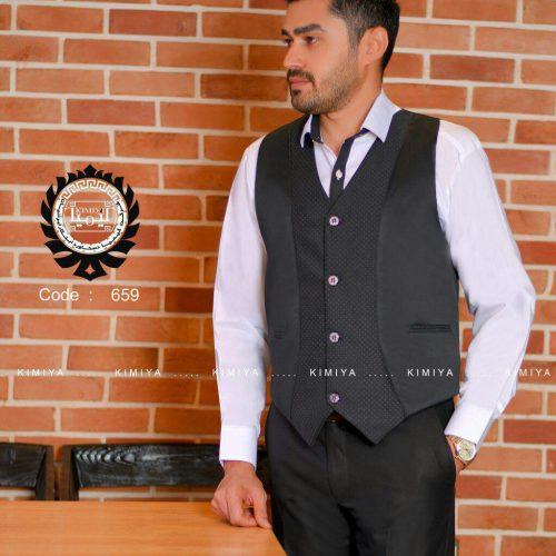 لباس فرم رستوران مدل چليپا (جلیقه-پیراهن)